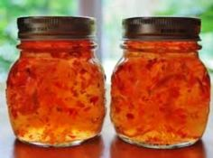 Orange Pepper Jelly