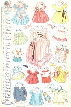 27 dancing school paper dolls 3