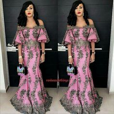 "993 Likes, 6 Comments - WEDDING & LIFE STYLE (@9naijabrides) on Instagram: ""Attractive Guest! #onyiorji Dress by #renbossclothings #NaijaLadiesAreKillingIt #9naijaBrides"""