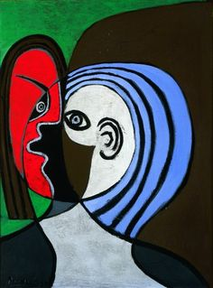Tête de femme - Picasso - 1929 - oil on wood