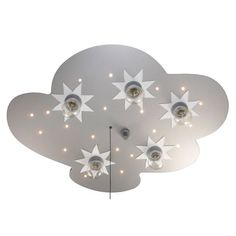 NIERMANN STAND BY Le plafonnier à LED «nuage» lampe enfant NIERMANN STAND BY