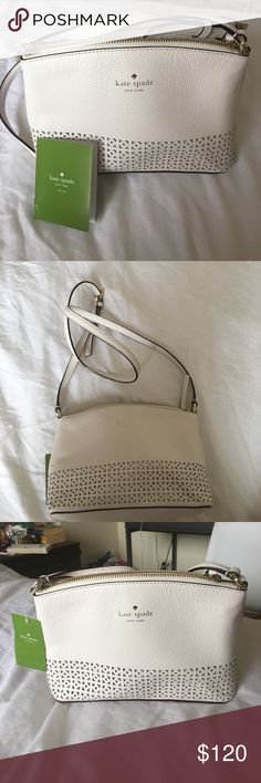 Kate Spade Millie Bag Never used with tags on. Perfect for summer, great size. Price tag shows $229!! kate spade Bags Crossbody Bags