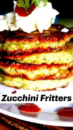 Zuchinni Recipes, Veggie Recipes, Snacks Recipes, Keto Snacks, Keto Recipes, Egg Recipes For Dinner, Zucchini Fritters, Fried Zucchini, Recipes