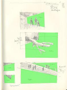 Pierre Ledford, Greenscreens / Sketches © Pierre Ledford & Ésèpe de Zélée