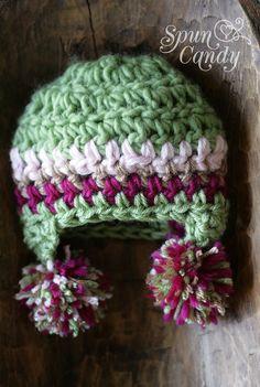 PomPom Earflap Hat