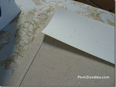 How to Make a Straight Curtain Hem the Easy Way.