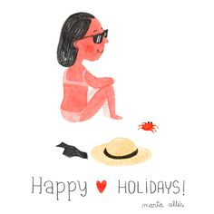 *Marta Altés Illustration* Children's Literature, Alter, Happy Holidays, Illustration Art, Disney Characters, Summer, Blog, Graphics, Image