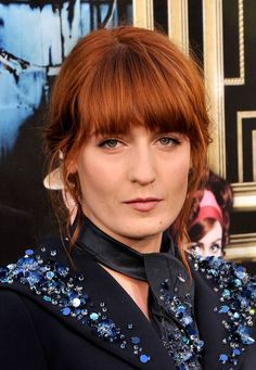 Florence Welch's Messy Updo