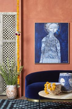 Saanjh by Jai Vasicek Art Journal Inspiration, Art Inspo, Buy Art Online, Australian Artists, Klimt, Religious Art, Home Decor Styles, Diy Art, Colorful Interiors