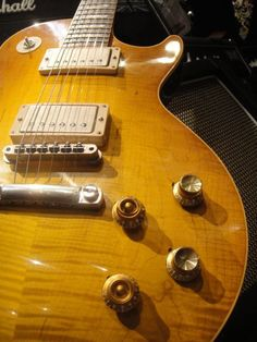 The Peter Green Gary Moore Gibson Les Paul Custom Shop Les Paul, also owned by a special person with a name starting with C.
