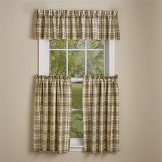 """Cedar Lane Curtain Tiers 72"""" x 36"""""""