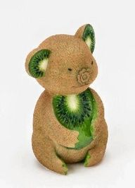 Kiwi Bear - Food Art