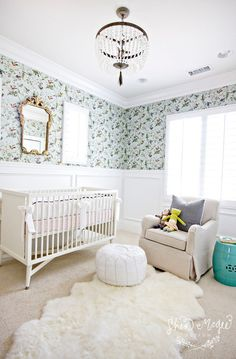 Nursery. Traditional Nursery Ideas. #Nursery #TraditionalNursery  Studio McGee.