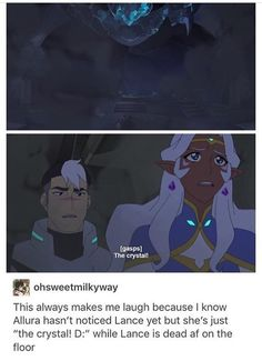 "Shiro be like ""Y u no care about mah child. Dishonor on u, dishonor on ur fam, dishonor on ur cow (who also my cow but dat beside da point) MAH BB LANCE U OK DAD GOT U NOW U GON B OK""-that's totally how the scene went right???"