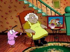 """Sabias que en el primer episodio de la serie animada """"Coraje, el perro cobarde"""" fue nominado a un Oscar."""