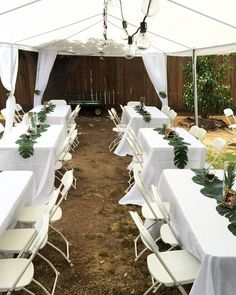 This white 10 x 30 party tent is ideal for recreational use parties weddings and other backyard events. It can hold up to 50 people and will surely make your next event a Classic! - Gazebo - Ideas of Gazebo Deco Baby Shower, Baby Shower Themes, Baby Boy Shower, Safari Theme Baby Shower, Bridal Shower, Baby Showers, Shower Ideas, Jungle Theme Birthday, Jungle Party