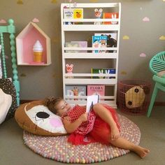 mommo design: 8 KIDS' READING CORNERS