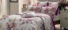 Dorma Pink Camilla Bedlinen Collection Camilla, Linen Bedding, Comforters, Home Improvement, Colours, Blanket, Pink, Furniture, Collection
