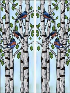 Mattingly-L Faux Privacy Stained Glass Clings and Window Films