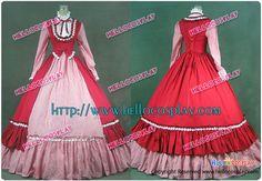 Victorian Gothic Lolita Ball Gown Prom Steampunk Dress