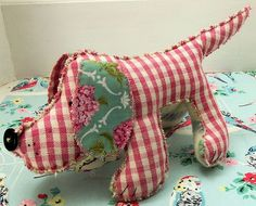 softie free patterns | Love this adorable Humphrey Dog Softie Sewing Pattern . I just can't ...