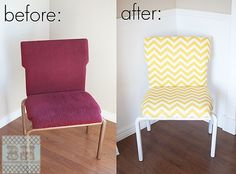 Old Chair revamped into New! - Blooming Homestead