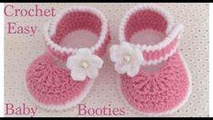Zapatitos a Crochet muy fáciles para bebes tejido tallermanualperu - Смотреть видео бесплатно онлайн Baby Girl Crochet Blanket, Crochet Baby Boots, Crochet Baby Sandals, Crochet Baby Clothes, Crochet Sole, Easy Crochet, Cute Baby Shoes, Baby Slippers, Ballerina Slippers