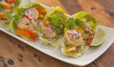 WEF_Ep22_MAYVERS_Quinoa Crusted Prawns with Avocado and Tahini Whip
