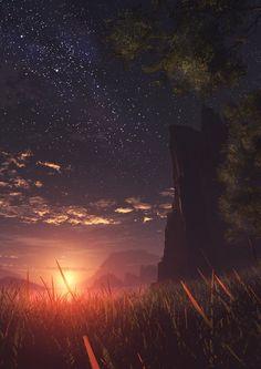七夕 星空 画像