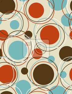 """Vinilos """"configuración, repetir, retros - círculos órbita - patrón transparente"""" ✓ Amplia selección de los materiales ✓ Ajustaremos el producto a tu medida ✓ ¡Comprueba las opiniones de nuestros clientes!"""