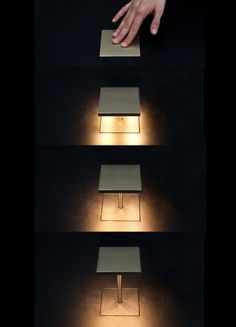 table top recessed light fixture by Mario Nanni, 2011