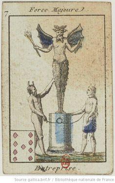 Jeu du Petit Oracle : [jeu de cartes, estampe] - 11 (1795-1799)