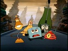 THE BRAVE LITTLE TOASTER! <3