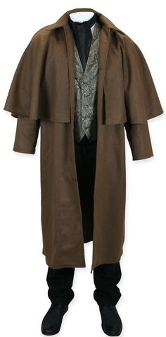 Victorian Inverness Coat. This looks like a good functional design, good for many types of weather.
