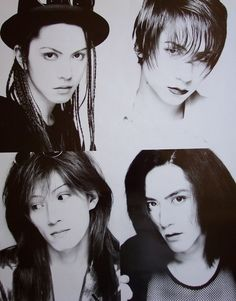 Hyde, Ken, Tetsu, Sakura / L'Arc~en~Ciel