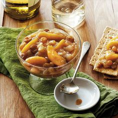105 Slow-Cooker Favorites | Chunky Peach-Ginger Chutney | CookingLight.com