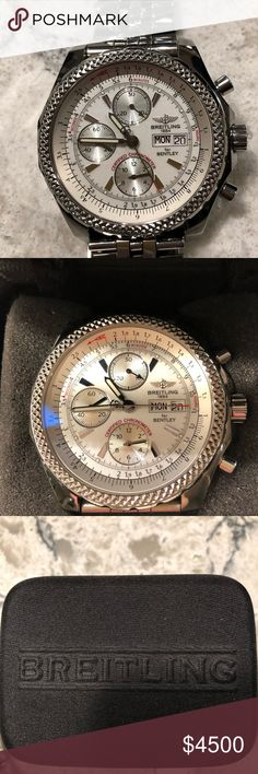 Breitling Bentley GT Racing Watch Lightly used watch paid over $7500 for! Very sophisticated on! Always lots of compliments! Breitling Accessories Watches