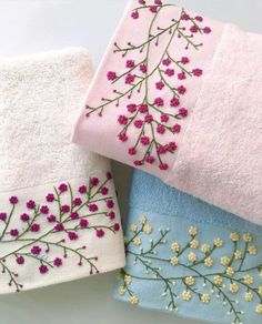 Crafts Needlework - TOOGOO(R)Crafts Needlework Embroidery Paintings Fashion Pastoral Eternal Love Ribbon Embroidery Color Series New Paintings Flower - Embroidery Design Guide Hand Embroidery Videos, Embroidery Flowers Pattern, Hand Embroidery Dress, Flower Embroidery Designs, Creative Embroidery, Simple Embroidery, Learn Embroidery, Hand Embroidery Stitches, Silk Ribbon Embroidery