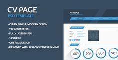 You can easy download it here: http://www.behance.net/gallery/Freebie-Free-PSD-Template-CV-page/11668967