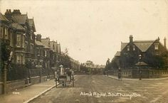 Alma Road, Portswood. Southampton, Hampshire, Postcards, In This Moment, Places, Roots, Usa, Vintage, Hampshire Pig
