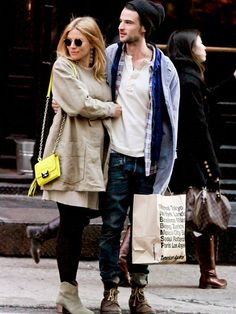 Sienna Miller's Maternity Style : People.com