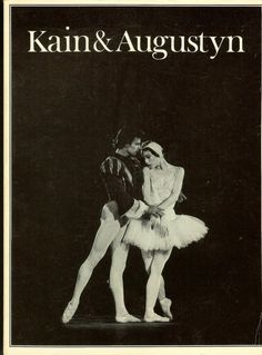 Kain Augustyn Karen Frank Ballet Dancers Photography Theatre Dance Arts Signed