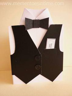 Shirt and Tie Card with Bonus Printable
