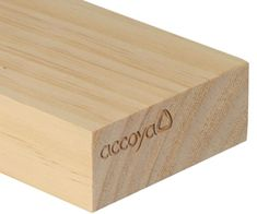 Accoya Wood - Accoya wood is made with acetylation technology, a non-toxic process that results in a solid wood product with exceptional durability and dimensional stability. Accoya is resistant to cupping, bowing, twisting, or cracking and can last up to 50 years in above-ground applications. It is sustainably sourced from fast-growing species and is indigestible to insects. Accoya wood is suitable for demanding outdoor applications, such as windows, doors, shading, flooring, cladding…