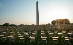 857 Empty Desks On National Mall Represent Number Of U.S. High School Drop-Outs Per Hour