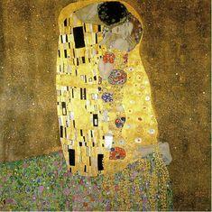 The Kiss, 1908 by Gustav Klimt - art print from King & McGaw Gustav Klimt, Art Klimt, The Kiss, Canvas Wall Art, Oil On Canvas, Canvas Prints, Art Prints, Salvador Dali, Pablo Picasso