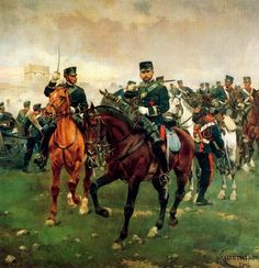 Horses Appaloosas Paints Old West Wallpaper Border Military Art, Military History, Military Uniforms, Napoleon, Friedrich Ii, Frederick The Great, Field Marshal, Seven Years' War, Dark Ages