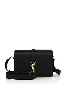 900f9812bc70 Saint Laurent - Saint Laurent Monogram Universite Medium Leather Crossbody Bag  Saint Laurent Handbags, Lanvin
