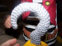 Crochet pirate hook