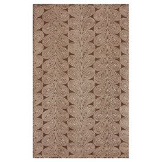 Hand-tufted wool rug.  Product: RugConstruction Material: 100% WoolColor: BrownFeatu...